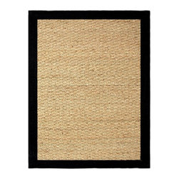 Chesapeake Merchandising - Chesapeake Seagrass Area Rug - 11760 - Shop for Rugs and Runners from Hayneedle.com! Naturally beautiful the Chesapeake Seagrass Area Rug is crafted of 100% seagrass with a wide border to add color and texture to your space. It even has latex backing to keep it in place. Choose from several color and size options.About Chesapeake Merchandising Inc.Dan Arora is a second-generation entrepreneur with a family background in quality textiles. He established Chesapeake Merchandising in 1995 to provide customers with sumptuous bath accent and area rugs as well as luxurious table linens and bedspreads. Chesapeake has a liaison office in India with a team of professionals committed to finding quality stylish textiles. This team keeps close watch on sourcing the finest raw materials exercising control over dyeing and weaving and completing the finishing stages to ensure there are no compromises when it comes to quality.