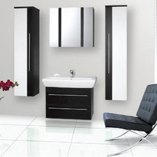 Modern Bathroom Cabinets And Shelves by Liberty Windoors Corp.