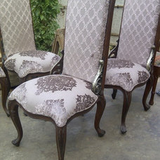 Traditional Dining Chairs by benaish omer zuberi