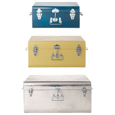 Eclectic Decorative Trunks by TOAST