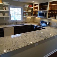 Modern Kitchen Countertops by HohneReno