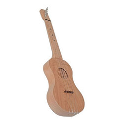 Zither Heaven - Zither Heaven Ukulele - UKR15-C - Shop for Toy Instruments from Hayneedle.com! Children and adults alike can appreciate the sound and playability of the Zither Heaven Ukulele. Made in the United States with solid maple and solid cherry hardwoods this ukulele features a 15-inch vibrating string length. The precise action and placement of the bridge allows chords to be played at the bottom and top of the neck without losing sound quality. Nylon frets and strings produce great sound and Zither pins are used for tuning. A song booklet is also included to get your child started. About Zither HeavenZither Heaven is dedicated to producing high quality musical instruments in the United States using sustainable native North American hardwoods along with other components that are made in the USA. Their commitment to quality and precision produces great-sounding musical instruments for both children and adults. Since Zither is involved in the production of their products at every stage and by producing locally they are able to guarantee satisfaction with their products.