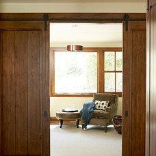 Barn door hideaway < Monterey Idea House - Sunset.com