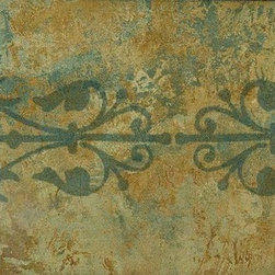 York Wallcoverings - STYLE SOURCE SCROLL Wallpaper Border - Wallpaper borders bring color, character and detail to a room with exciting new look for your walls - easier and quicker then ever.