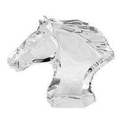Baccarat - Baccarat Horse Head Small 4 3/4 H - Baccarat Horse Head Small 4 3/4 HBaccarat Crystal can trace its history back to 18th century France, where in the village of Baccarat a glassworks facility was established. Since 1794 they have been producing some of the world,s finest crystal, using age old methods. Baccarat crystal glasses have been produced for kings and queens alike. Their delicate detailing and unparalleled quality are sought after by collectors around the world, and now they can be part of your home at affordable prices