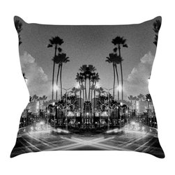 """Kess InHouse - Richard Casillas """"X Marks the Spot"""" Throw Pillow (20"""" x 20"""") - Rest among the art you love. Transform your hang out room into a hip gallery, that's also comfortable. With this pillow you can create an environment that reflects your unique style. It's amazing what a throw pillow can do to complete a room. (Kess InHouse is not responsible for pillow fighting that may occur as the result of creative stimulation)."""