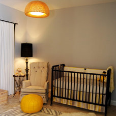 Traditional Nursery by Nicole Lanteri Design