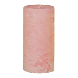 "Oddity - Oddity 3""x 6"" Weathered Pillar Candle Sparkle - Pillar candles are a staple in home decorating. They add beauty to any occasion and a fragrant ambience to any space. Our beautiful line of distressed pillar candles are made in the USA."