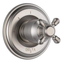 Delta Cassidy 3 Function Diverter Trim - Delta Cassidy 3 Function Diverter Trim, Brilliance® Stainless Finish, T11897-SSLHP H595SS