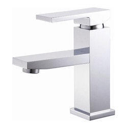 Yosemite Home Decor - Single Handle Lavatory Faucet - Washerless Cartridge Single Handle Lavatory Faucet Polished Chrome No Pop up drain included