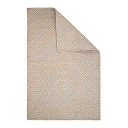 Hook & Loom Rug Company - Shelbourne Taupe/Grey Eco Cotton Rug - Very eco-friendly rug, hand-woven with yarns spun from 100% recycled fiber.  Color comes from the original textiles, so no dyes are used in the making of this rug.  Hand-bound edges instead of hems, so it is 100% reversible for twice the wear. Machine wash and tumble dry. Made in India.