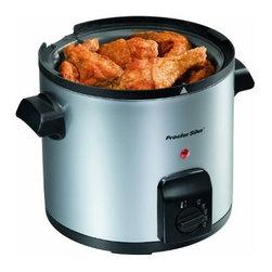 HAMILTON BEACH BRANDS, INC. - 35017y 4 Cup Deep Fryer - Proctor-silex 4 cup deep fryer