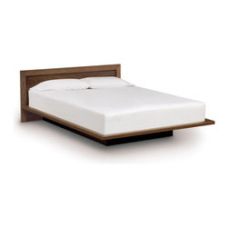 "Copeland Furniture - Copeland Furniture Moduluxe 29"" Queen Bed with Panel Headboard 1-MVD-22-04 - Sectional furniture for the bedroom Moduluxe is a highly configurable bedroom and storage system that can adapt to most spaces and needs. Beds ' configured for mattress only Cases are available in a wide range of sizes and functions and are stylish as standalone pieces or may be configured for a semi built-in feel. The Moduluxe Bedroom is crafted in solid maple, cherry or American black walnut hardwood. Bed headboard panel is laminated with maple, cherry or walnut veneer."