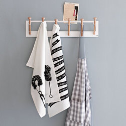 Pedersen + Lennard Hooks, Long - If clean and casual is your style, then this peg coat rack could be for you.