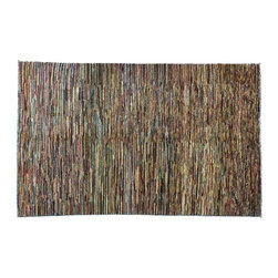 Striped Oriental Rug, Gabbeh Peshawar 4'X6' Hand Knotted 100% Wool Rug SH7628 - Our Modern & Contemporary Rug Collections are directly imported out of India & China.  The designs range from, solid, striped, geometric, modern, and abstract.  The color schemes range from very soft to very vibrant.