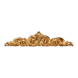 uDecor - GF-5009 Ornamental - For anyone looking for an elegant way to adorn your home or business, our gold foil products are the perfect way to achieve your desired look. Made out of polyurethane and then coated with 18k gold foil, these products are sure to leave your family and clients impressed.  Made from dense polyurethane