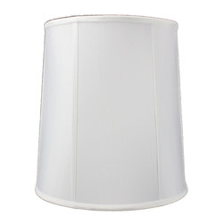 Home Concept - White Linen Fabric Drum Premium Lampshade 12x14x15 - Celebrate Your Home - Home Concept invites you to welcome your guests with our array of lampshade styles that will instantly upgrade your space