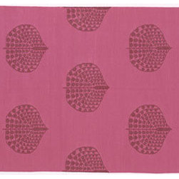 Song Cotton Flatweave rug from Madeline Weinrib Atelier - I love the unexpected pink and red in this flatweave cotton rug. Has such a vintage exotic feel. I desperately want this for my own home.