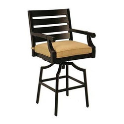"Asheville 24"" Barstool - Photo: Jerome's Furniture"