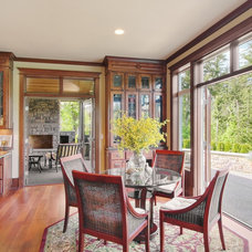 Traditional Dining Room by John F Buchan Homes