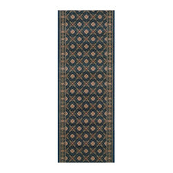 Rivington Rugs - Rivington Rug Vidor Runner - Imperial Multicolor - VIDOR-3736-2 FT. 2 IN. X 10 F - Shop for Rugs and Runners from Hayneedle.com! Embrace you inner emperor with the Rivington Rug Vidor Runner - Imperial. The striking iron trellis motif is a perfect accent for any space while the polypropylene construction ensures lasting longevity. Available in a variety of sizes.