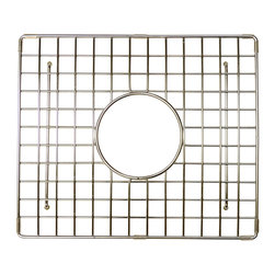 "Native Trails - Native Trails 13.25"" x 11.25"" Bottom Grid in Stainless Steel - *Native Trails Bottom Grids fit neatly on the floor of the sink, offering protection for the bottom and a cushion for fragile dishes"