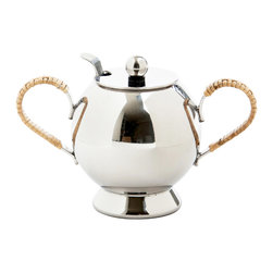 Nick Munro - Spheres Sugar Bowl - No proper tea can be served on its own. So Nick Munro designed a matching sugar bowl and creamer to complement his Spheres tea infuser. Add this charming and simple collection to your modern table.