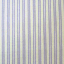 """SheetWorld - SheetWorld Fitted Basket Sheet - Lavender Dual Stripe - Made in USA - This luxurious 100% cotton """"woven"""" basket sheet features a 1/8"""" dual lavender stripe. Our sheets are made of the highest quality fabric that's measured at a 280 tc. That means these sheets are soft and durable. Sheets are made with deep pockets and are elasticized around the entire edge which prevents it from slipping off the mattress, thereby keeping your baby safe. These sheets are so durable that they will last all through your baby's growing years. We're called sheetworld because we produce the highest grade sheets on the market today. Size: 13 x 27."""