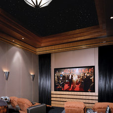 Modern Home Theater by Fran Kerzner- DESIGN SYNTHESIS