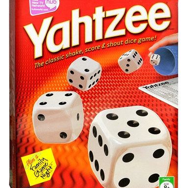 Parker Brothers Yahtzee Dice Game -
