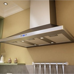 Zephyr - Zephyr 42W in. Venezia Wall Mounted Range Hood - ZVE-E42BS - Shop for Hoods and Accessories from Hayneedle.com! Marrying a classic form with state-of-the-art technology the Zephyr 42W in. Venezia Wall Mounted Range Hood makes a stunning addition to any chef's kitchen. It's made to last from stainless steel and even has a finish to match. The innovative button panel with LED display gives you total control over the fans lights and delayed-stop feature. This range hood has the power to filter up to 900 cubic feet of air all while maintaining efficiency. Once the aluminum mesh filters need a cleaning you can conveniently toss them in your dishwasher.About ZephyrSince 1997 Zephyr has remained true to their vision of delivering the unexpected. Founder Alex Siow embraced the idea that a kitchen hood could do much more than vent air it could be as distinctive in its design as in its performance. Zephyr was first to recognize the demand for powerful professional-grade hoods for the home that were also beautiful. They answered the call with their Power Series of high CFM range hoods that put air quality concerns to rest with quiet efficiency. Zephyr raised the bar with self-cleaning filter-free technologies. Their solid reputation for well-construction high-powered range hoods is matched by their style and design. Fashion-forward and inspired their lines of range hoods include original works from renowned designers Robert Brunner Fu-Tung Cheng and David Lewis.