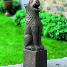 Traditional Garden Statues And Yard Art by Potted