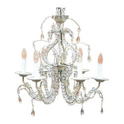 Chandeliers find chandelier shades and fixtures online - Classic wrought iron chandeliers adding more elegance in the room ...