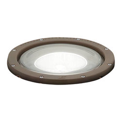 Kichler - Kichler HID High Intensity Discharge Outdoor Spotlight in Bronze - Shown in picture: In-Ground 1-Light 120V in Architectural Bronze