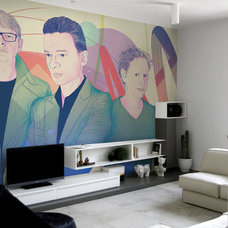 Contemporary Wall Decals by PIXERS