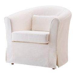IKEA of Sweden - EKTORP TULLSTA Chair cover - Chair cover, Blekinge white
