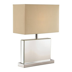 Trans Globe Lighting - Trans Globe Lighting RTL-8864 Cubed Mirror Table Lamp Multicolor - RTL-8864 - Shop for Wall Mounted from Hayneedle.com! Cool and linear the Trans Globe Lighting RTL-8864 Cubed Mirror Table Lamp is a contemporary way to illuminate. This table lamp features a polished chrome rectangular base with mirrored panels that reflect its modern style. A rectangular cream fabric shade warms up the look nicely. Bulb not included.About Trans Globe Lighting Inc.Born from the hopes and dreams of two entrepreneurial spirits in 1986 Trans Globe Lighting offers one of the most comprehensive and stylish collections of residential lighting in the world. This family-owned company based in North Hollywood Calif. is marked by personal involvement with a wide variety of products available at the lowest prices. From traditional to ultra-contemporary in style Trans Globe has just the right light for you.