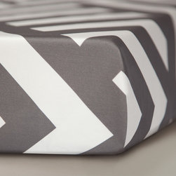 Oilo - Crib Sheet, Zara - Designed for high couture and maximum comfort, Oilo's fitted crib sheets are as soft as they are stylish.  All sheets are fully machine washable, made in the USA and designed to the highest standards of quality everything you've come to expect from Oilo.
