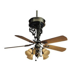 Online shopping for furniture decor and home improvement - Belt driven ceiling fan ...