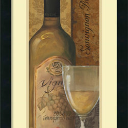 Amanti Art - Lisa Audit 'From the Cellar I' Framed Art Print 14 x 26-inch - Get your wine on with From the Cellar I by Lisa Audit; a great accent piece for the kitchen or dining area.