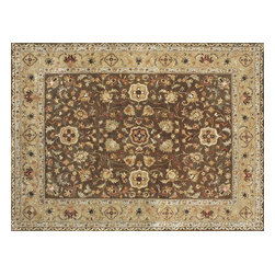 Loloi - Loloi Yorkshire Collection YORKYK-02BRCA5076 Rug - The Yorkshire Collection is a hand tufted area rug made by some of the finest craftsman. Semi-worsted New Zealand wool combines with deep rich color and semi-traditional designs to create unparalleled beauty.