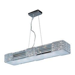 Maxim-Lighting - Maxim-Lighting 39785Bcpc Manhattan 8-Light Chandelier - Maxim-Lighting 39785BCPC Manhattan 8-Light Chandelier