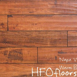 Linco Napa Valley - Napa Valley Warm Brandy 12mm distressed laminate. Available at HFOfloors.com.