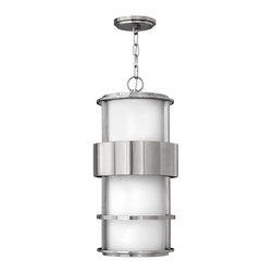 Hinkley Lighting - Hinkley Lighting 1902SS-GU24 Saturn Stainless Steel Outdoor Hanging Lantern - Hinkley Lighting 1902SS-GU24 Saturn Stainless Steel Outdoor Lantern