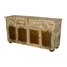 Shop Tall Distressed Wood Corner Cabinet Products on Houzz