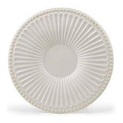 Lenox Corporation - Lenox Butlers Pantry Saucer - Set of 4 - LNOX789 - Shop for Dishes and Plates from Hayneedle.com! Have a truly complete drinkware set with the sophisticated Lenox Butlers Pantry Saucer - Set of 4. Crafted from durable stoneware that's microwave- and dishwasher-safe these saucers feature a classic fluted design with elegant beading around the rim. Perfect for entertaining these saucers also make lovely accent pieces.About Lenox CorporationLenox Corporation is an industry leader in premium tabletops giftware and collectibles. The company markets its products under the Lenox Dansk and Gorham brands propelled by a shared commitment to quality and design that makes the brands among the best known and respected in the industry. Collectively the three brands share 340 years of tabletop and giftware expertise.