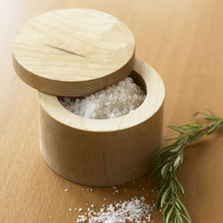 Maple Salt Box - A pretty maple salt box is the perfect countertop accessory for keeping sea salt or herbs within easy reach.