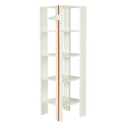Boom - Measurement Shelf - You don't have to worry about marking up any walls in your house again while your littles are growing. Keep track of their growth milestones as you organize their favorite keepsakes on this measurement shelf. The shelf will quickly become a family favorite for storing memories, books, toys and more.