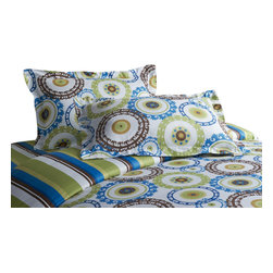 Jennifer Taylor Home - Queen 3 Pcs, Artwork - Artwork 3 PCS Queen Duvet Set