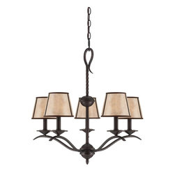 Savoy House Lighting - Savoy House Lighting 1-9620-5-25 Kennebec Transitional 5-Light Chandelier - Savoy House Lighting 1-9620-5-25 Kennebec Transitional 5-Light Chandelier